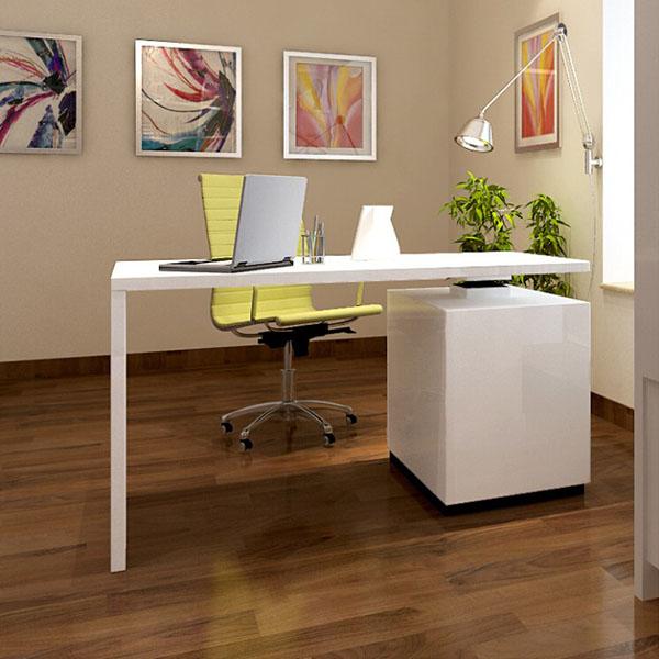 Modern contemporary computer desk for home office7